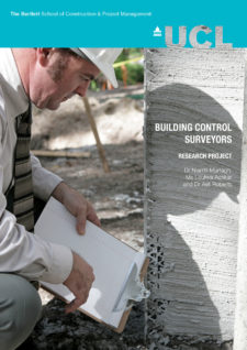 BuildingControlReport Front Cover
