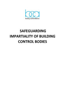 Safeguarding Impartiality of Building Control Bodies