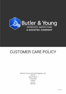 Customer Care Policy Cover - Sept 2019
