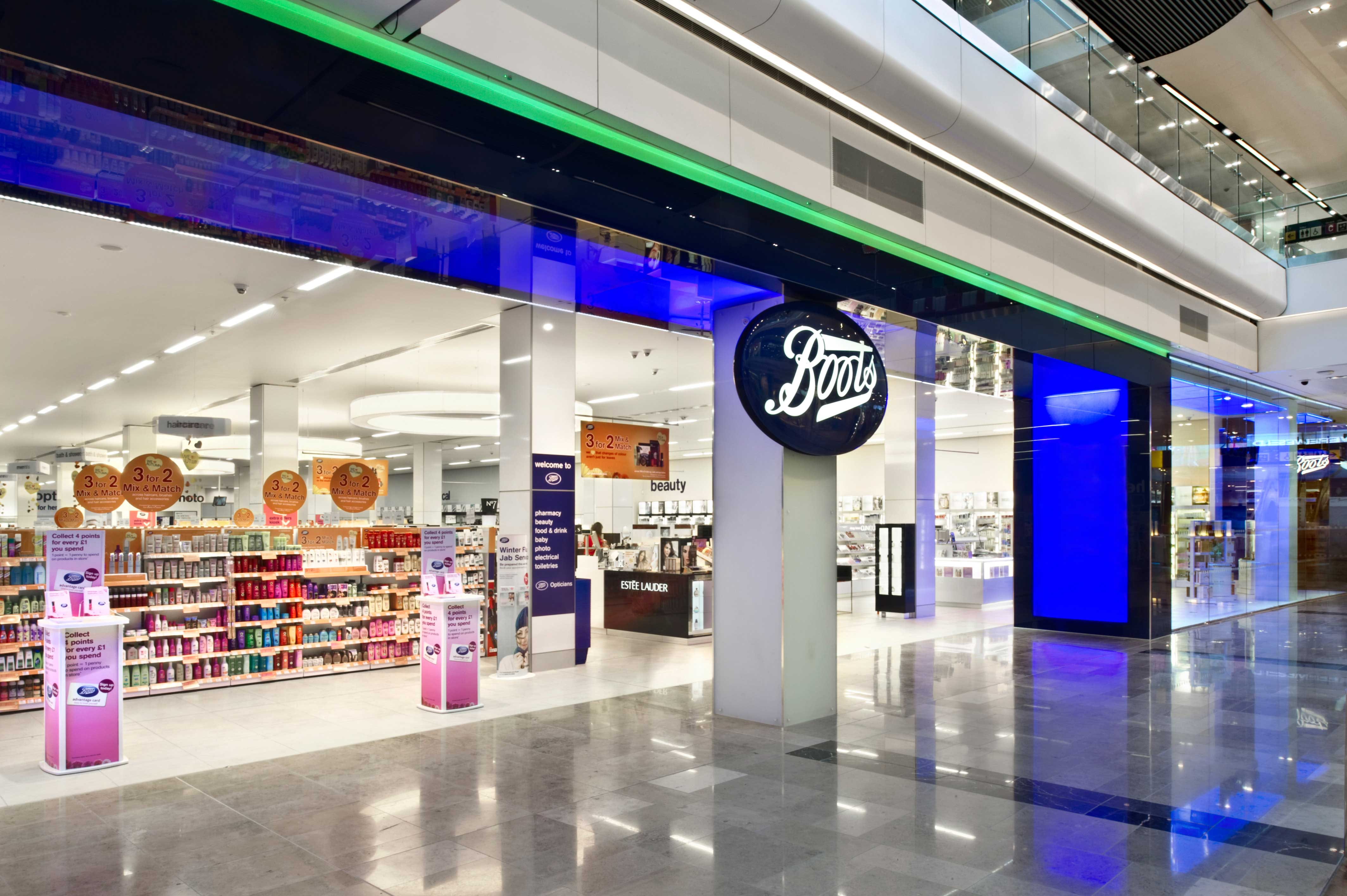 Boots Stores Nationwide