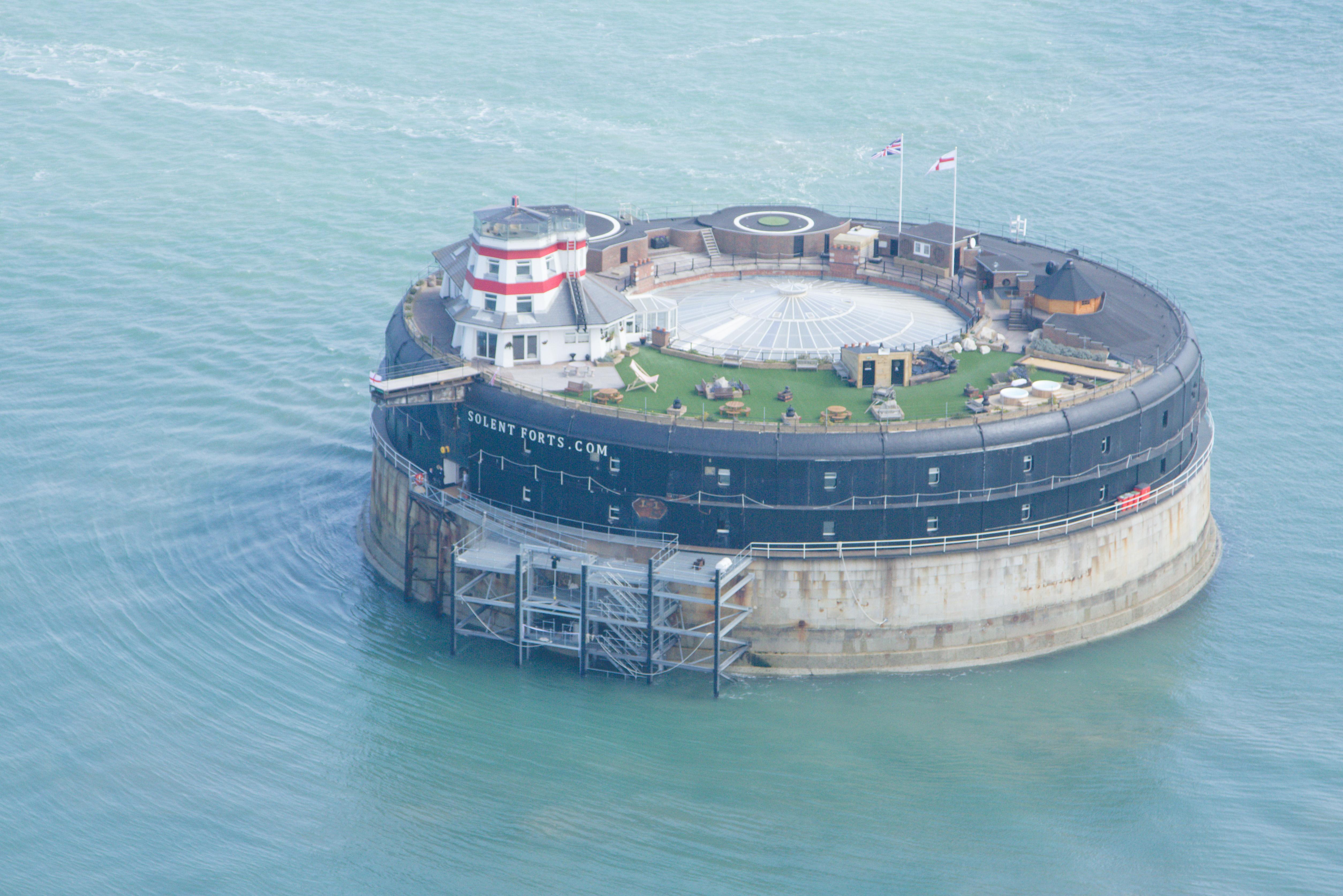 No Mans Fort, The Solent